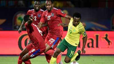 South Africa's Percy Tau v Namibia - June 2019