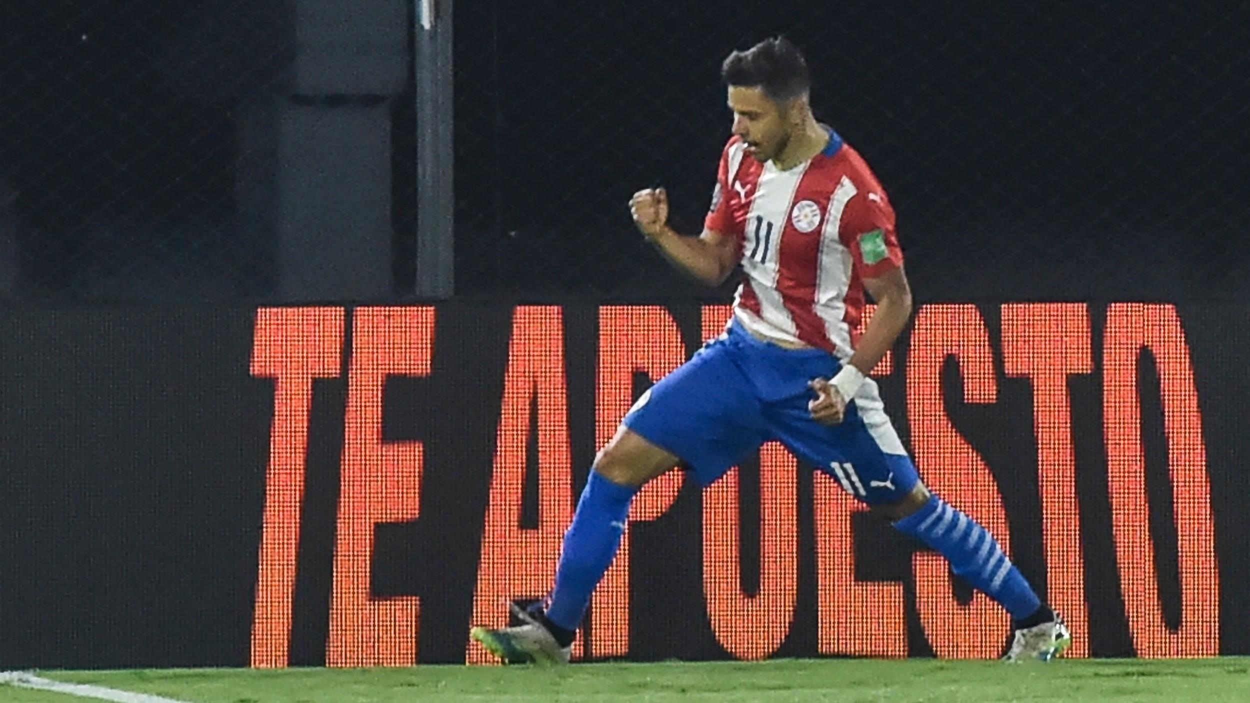 Angel Romero Paraguay Peru Fecha 1 Eliminatorias Sudamericanas Octubre 2020