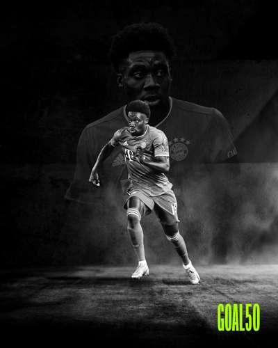 Alphonso Davies Goal 50