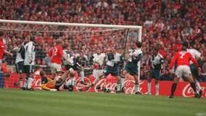 Liverpool Manchester United Eric Cantona FA Cup final 1996