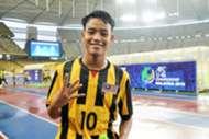 Luqman Hakim Shamsudin, Malaysia U16, AFC U16 Championship, 19092018