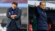 Lampard Tuchel Chelsea 2021