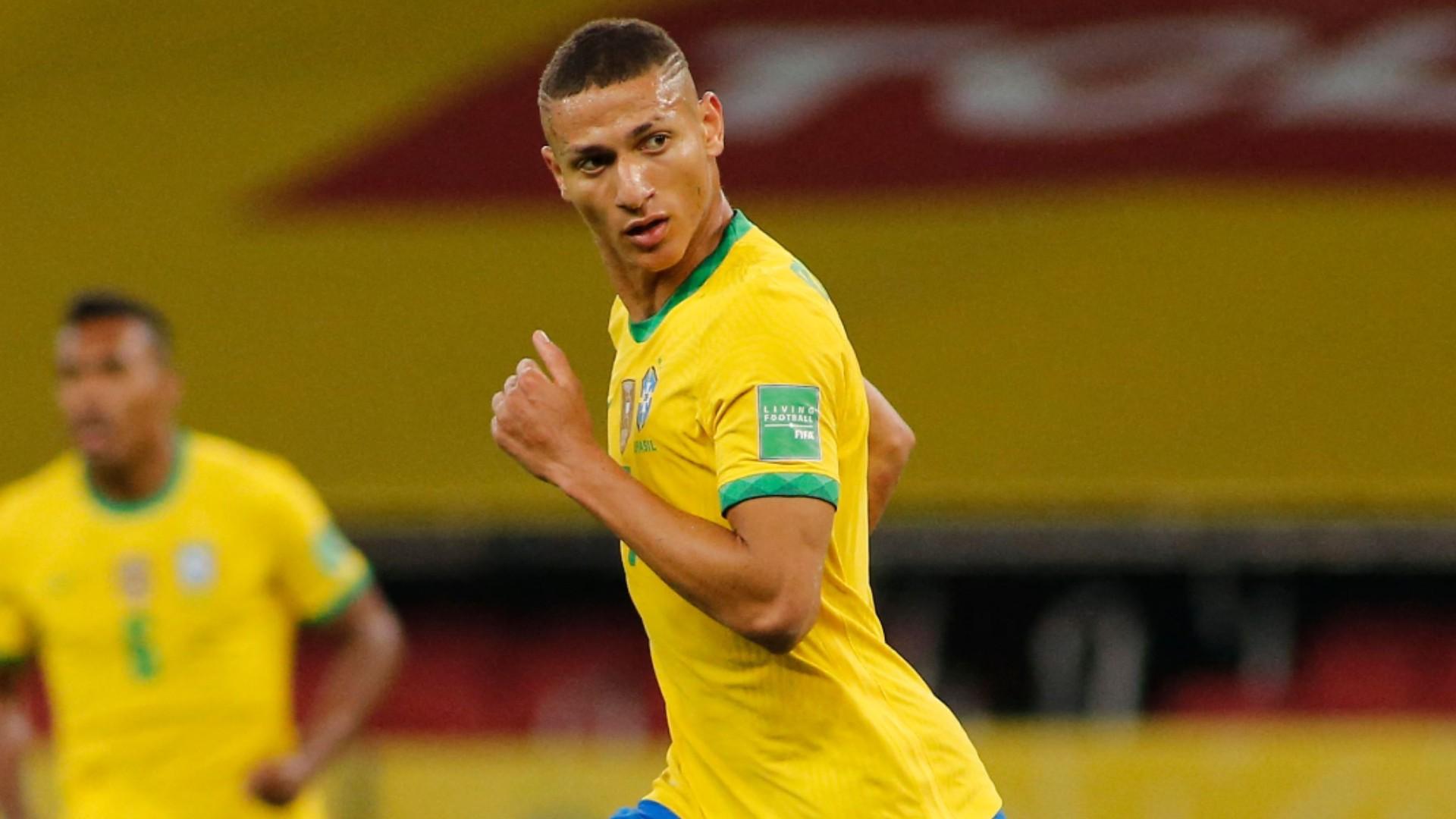 Brasil 2 X 0 Equador Richarlison E Neymar Marcam E Selecao Vencem Nas Eliminatorias Goal Com