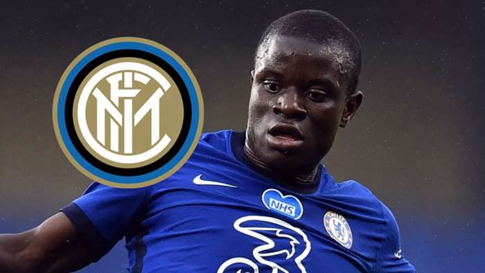 N'Golo Kante, Chelsea, Inter badge