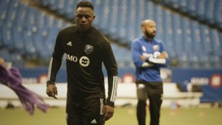 Victor Wanyama and Thierry Henry of Montreal Impact.
