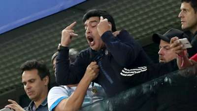 Diego Maradona Argentina World Cup 2018