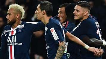 Mauro Icardi, Angel Di Maria, Neymar, Kylian Mbappe PSG