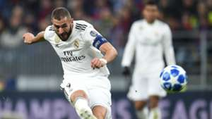 Karim Benzema Real Madrid CSKA UEFA Champions League 02102018