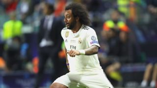 Marcelo Real Madrid UEFA Super Cup 2018