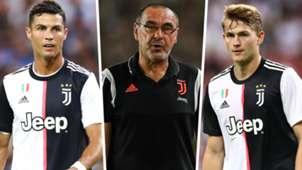 Cristiano Ronaldo Maurizio Sarri Matthijs de Ligt Juventus