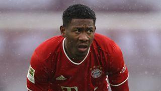 David Alaba Bayern Munich 2020-21
