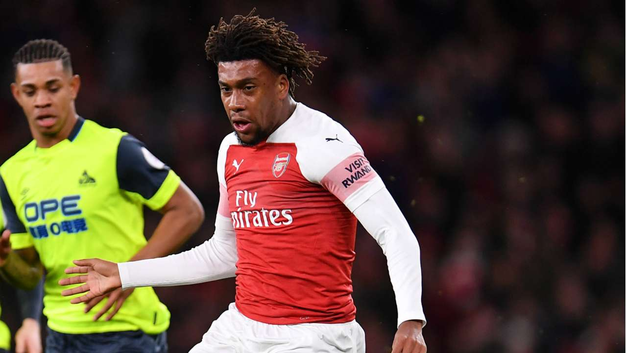 Alex Iwobi, Arsenal vs. Huddersfield