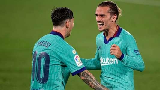 Griezmann se redime em noite com recordes de Messi e Suárez pelo Barcelona – Goal.com