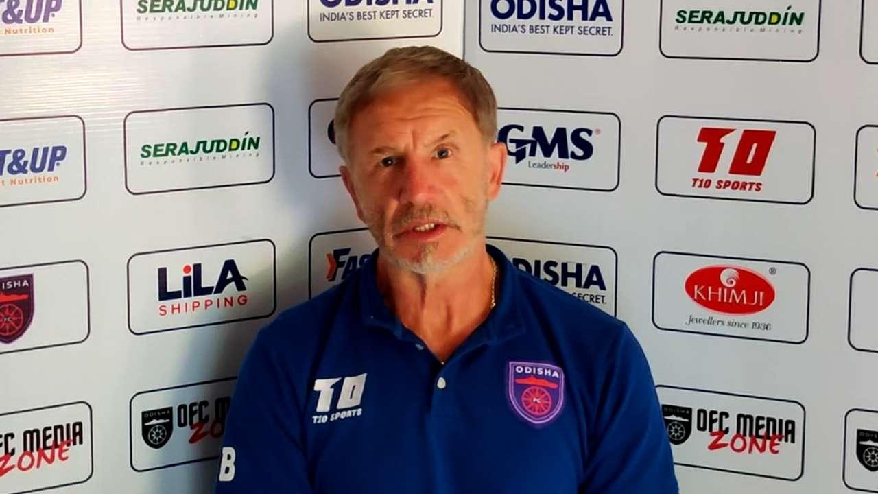 Stuart Baxter Odisha FC ISL 7