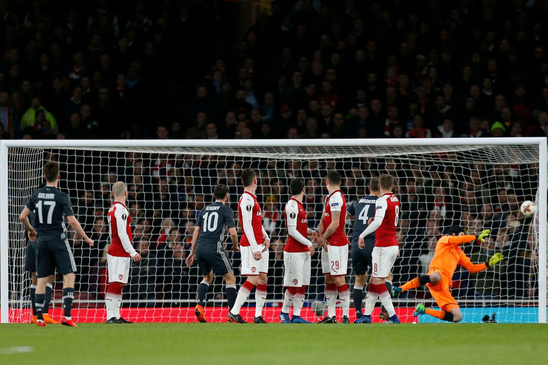 Golovin vs Arsenal