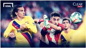 Cover Clear Athletic Bilbao vs Barcelona