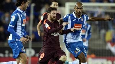 Lionel Messi Naldo Barcelona Espanyol