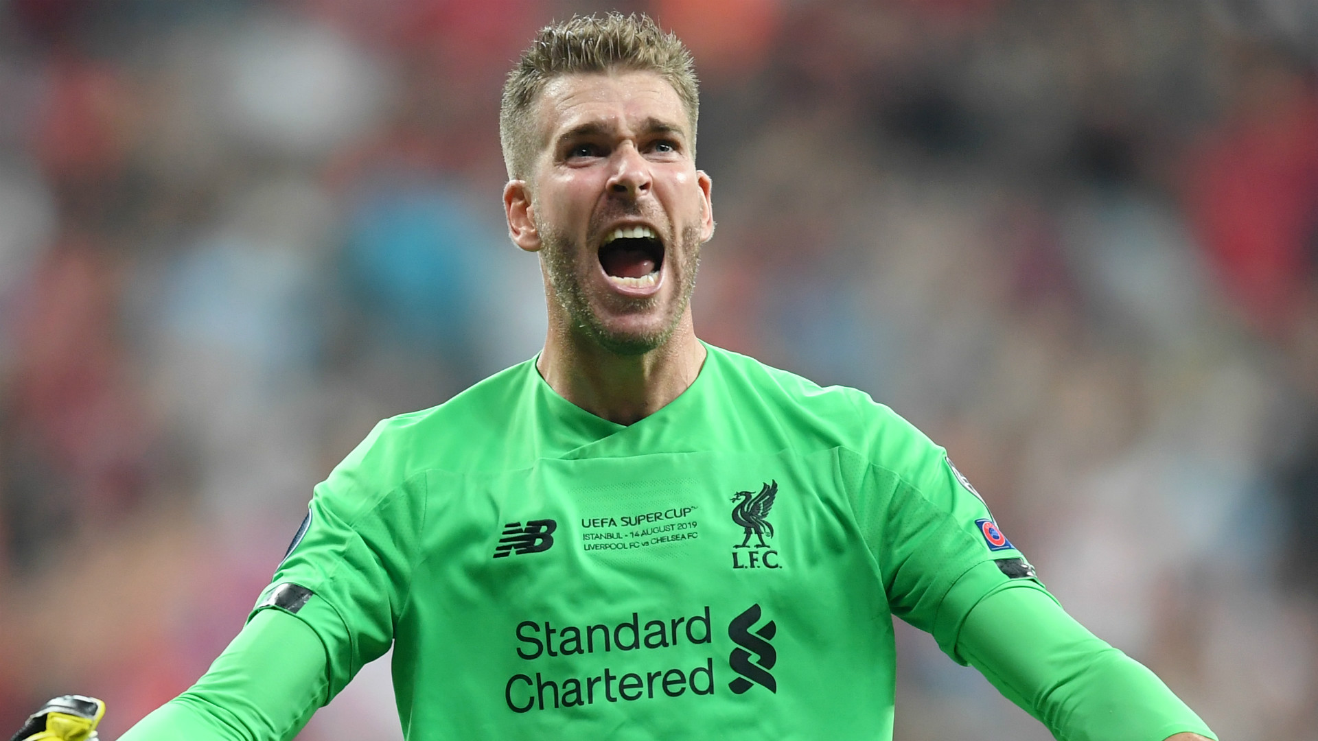 'Champions of England, Europe the world!' – Adrian revels in Liverpool's success