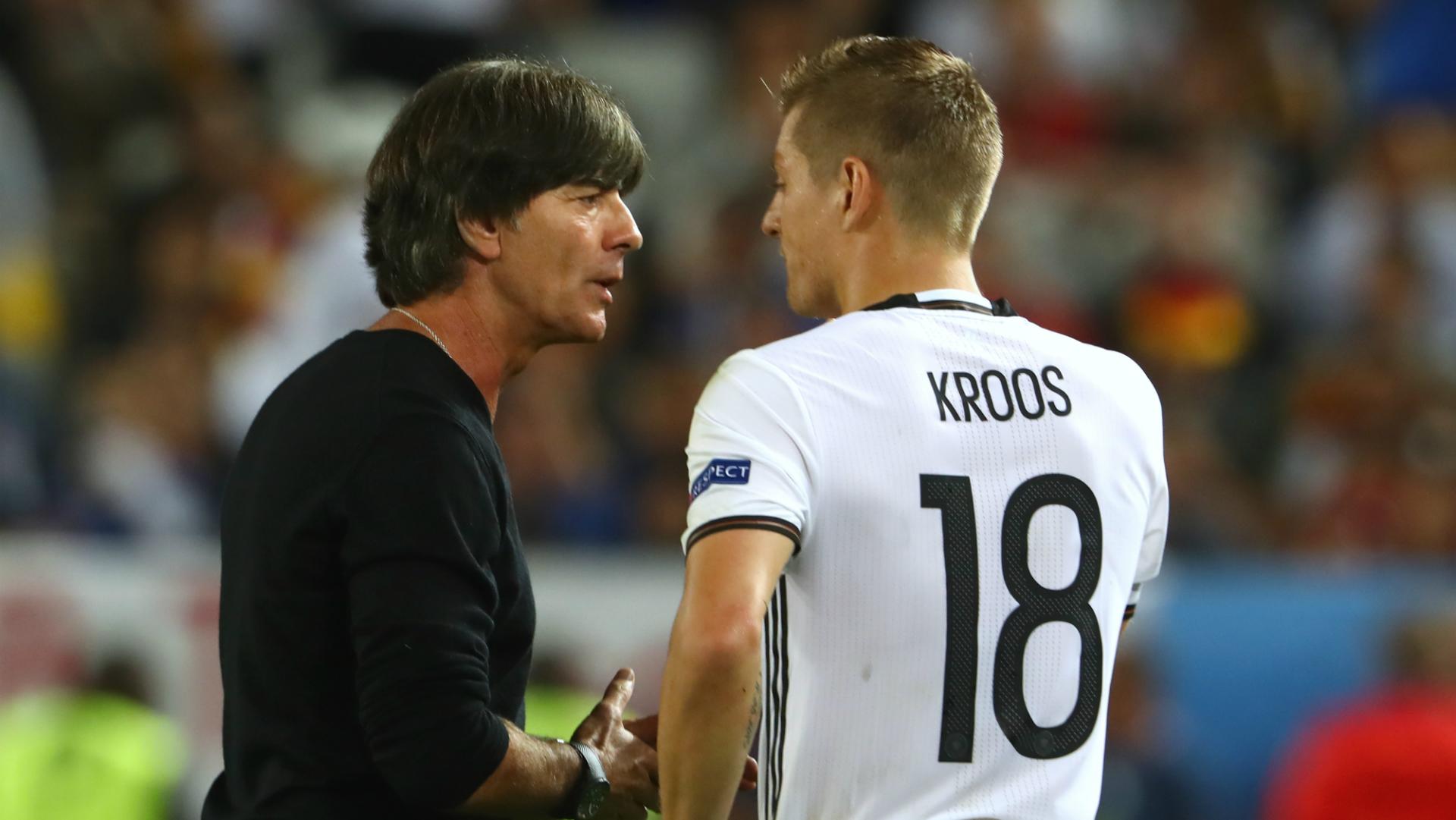 Joachim Low Toni Kroos Germany