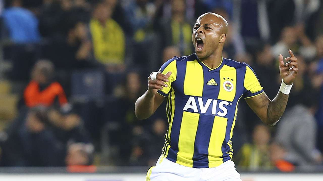 Andre Ayew Fenerbahce Anderlecht 11082018