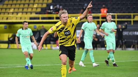 ฮาลันด์ซัดเบิ้ล! ดอร์ทมุนด์ทุบกลัดบัค 3-0 นัดเปิดฤดูกาล   Goal.com