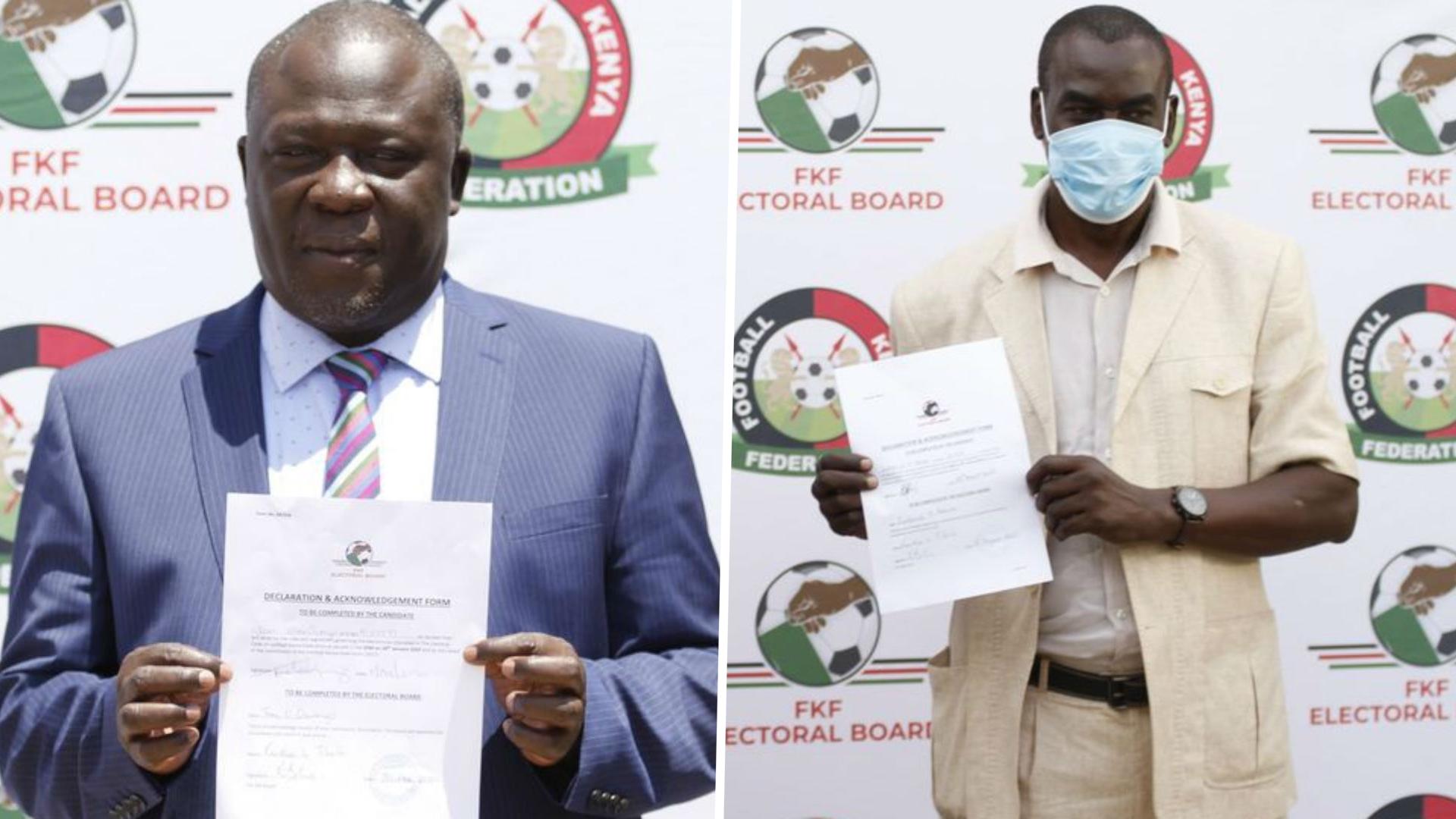 FKF Elections: Alila, Aduda hit back against Nyamweya and company