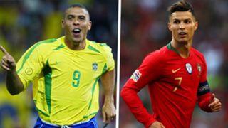 Ronaldo Nazario Brazil Crisiano Ronaldo Portugal