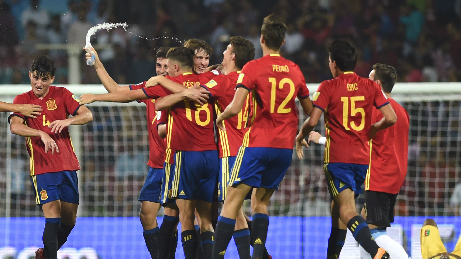 Spain Under 17s World Cup