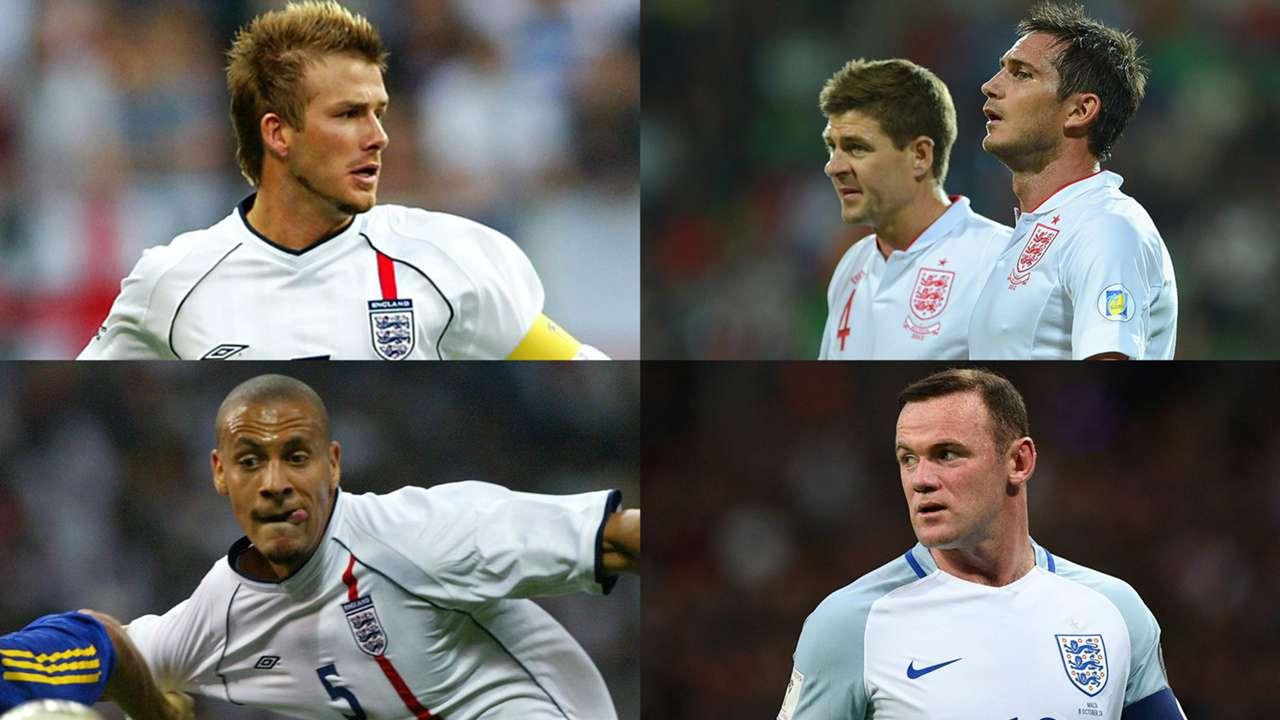 イングランド代表、21世紀の最強ベストイレブン。至高の中盤…日本で一 ...