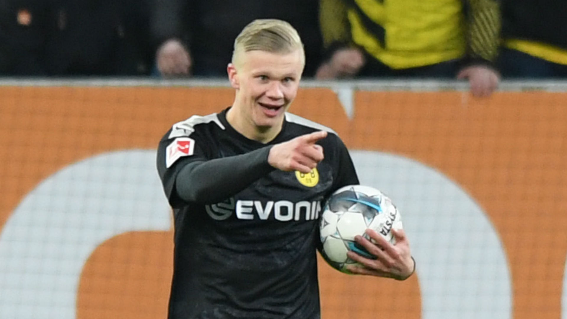 Haaland scores hat-trick off the bench on Borussia Dortmund debut