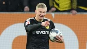Reus hoping Haaland can replicate Aubameyang exploits after Dortmund debut hat-trick