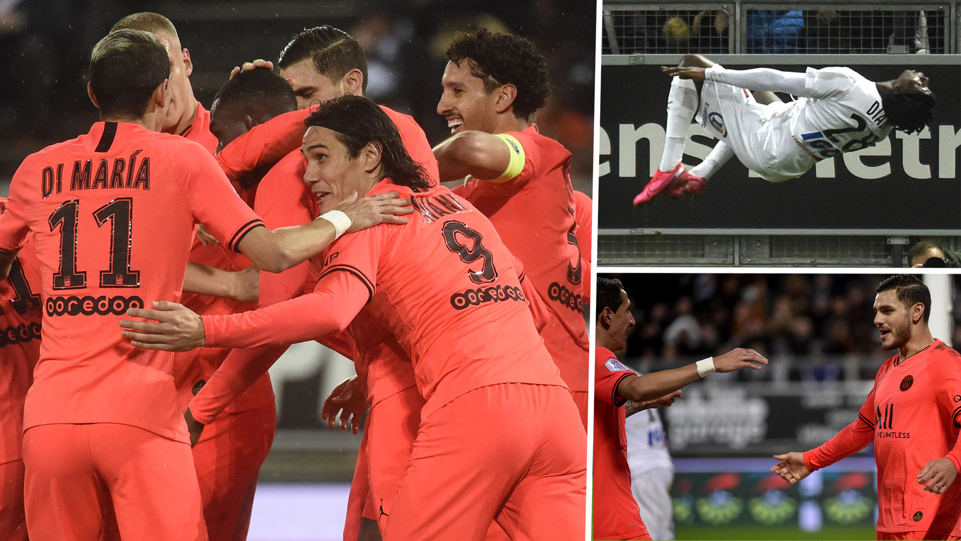 No Mbappe or Neymar but PSG equal Ligue 1 scoring record in incredible 4-4 draw with Amiens