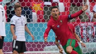 Cristiano Ronaldo Portugal Germany 0621