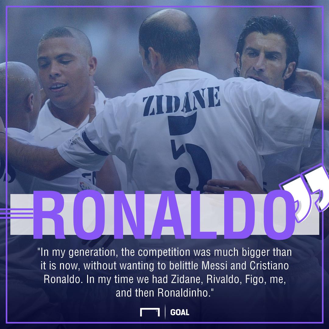 Ronaldo Messi and Cristiano Ronaldo easier era