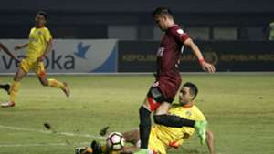 Otavio Dutra - Bhayangkara FC & Pavel Purishkin - PSM Makassar Pekan Ke-30