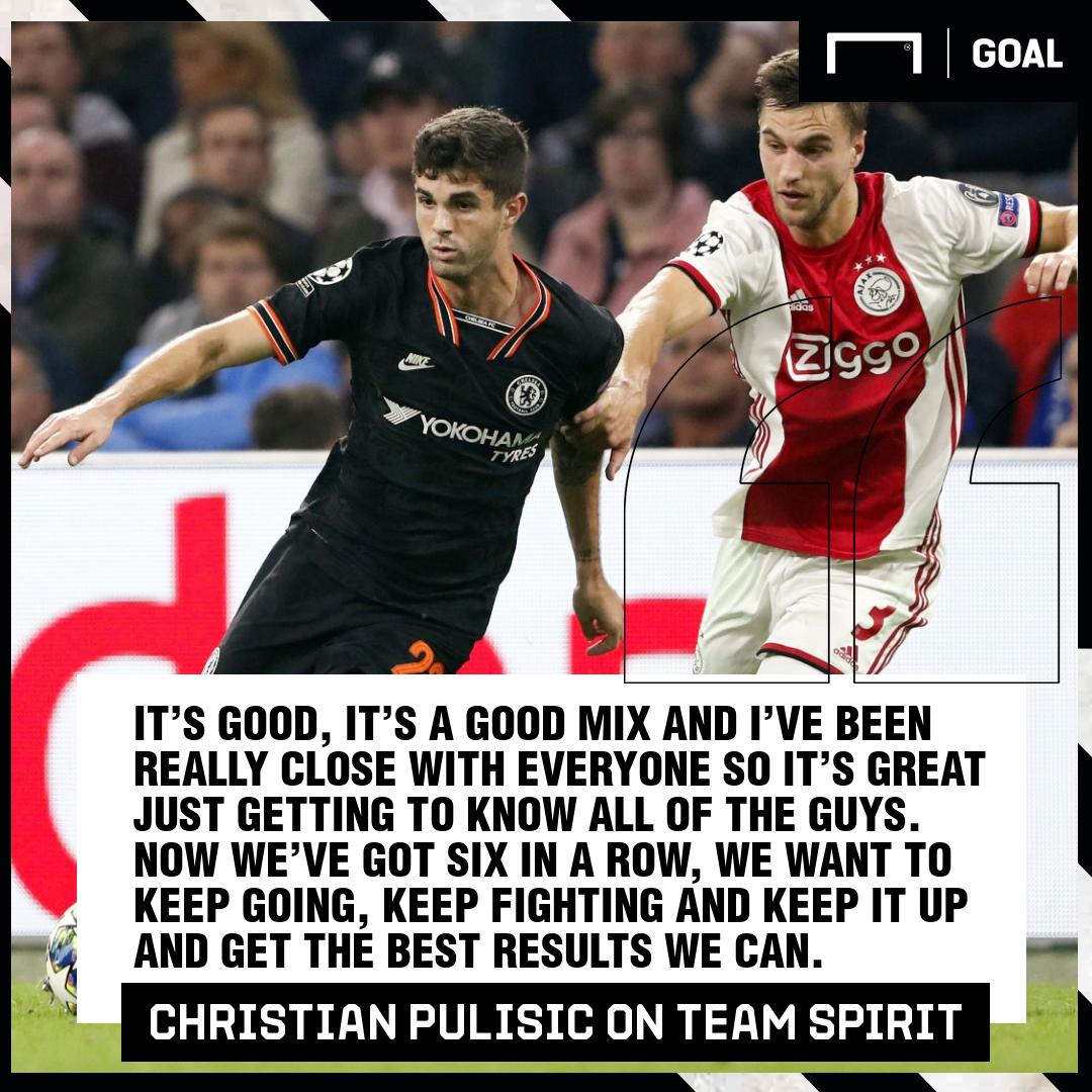 Christian Pulisic quote GFX