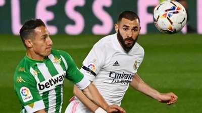 Karim Benzema Real Madrid Betis 2020-21