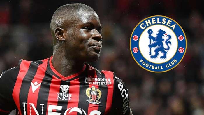 Malang Sarr, Nice, Chelsea badge