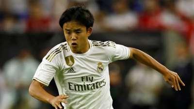 Takefusa Kubo Real Madrid pre-season 2019