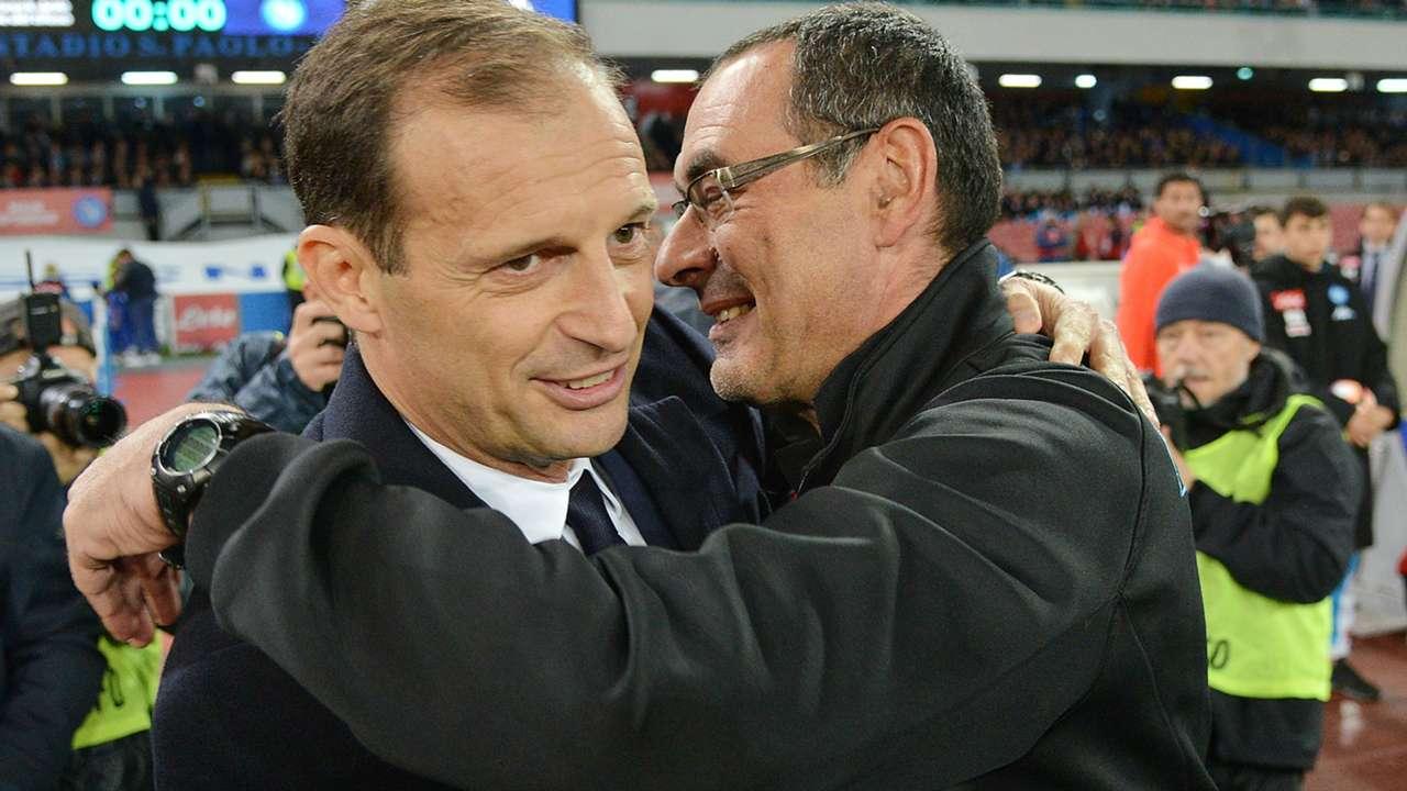 Sarri Allegri Napoli Juventus Serie A