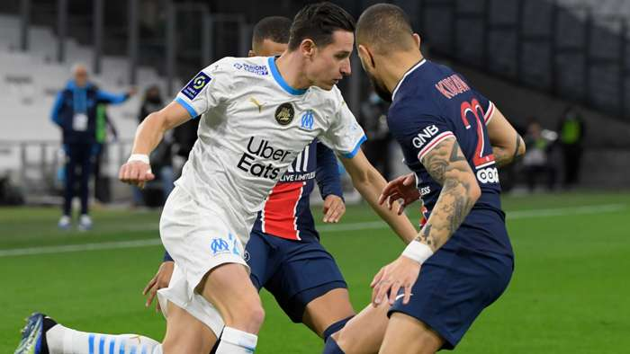 Layvin Kurzawa Florian Thauvin Marseille PSG Ligue 1 07022021