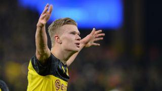 Erling Braut Haaland Dortmund PSG