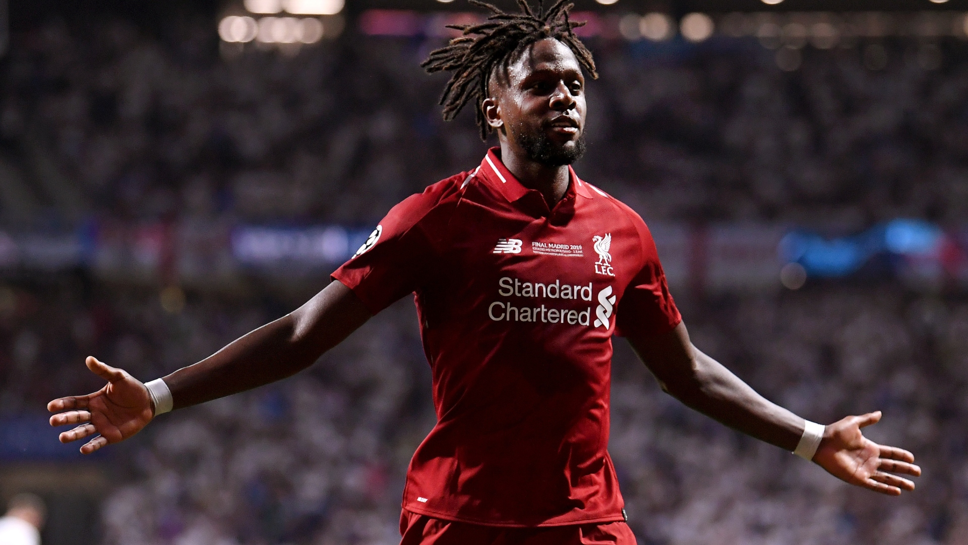 Divock Origi Tottenham Liverpool Champions League final