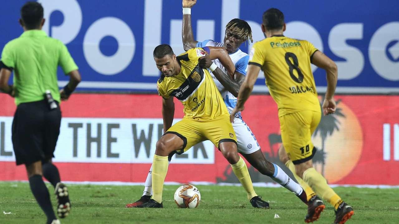 Aridane Santana Jamshedpur FC vs Hyderabad FC