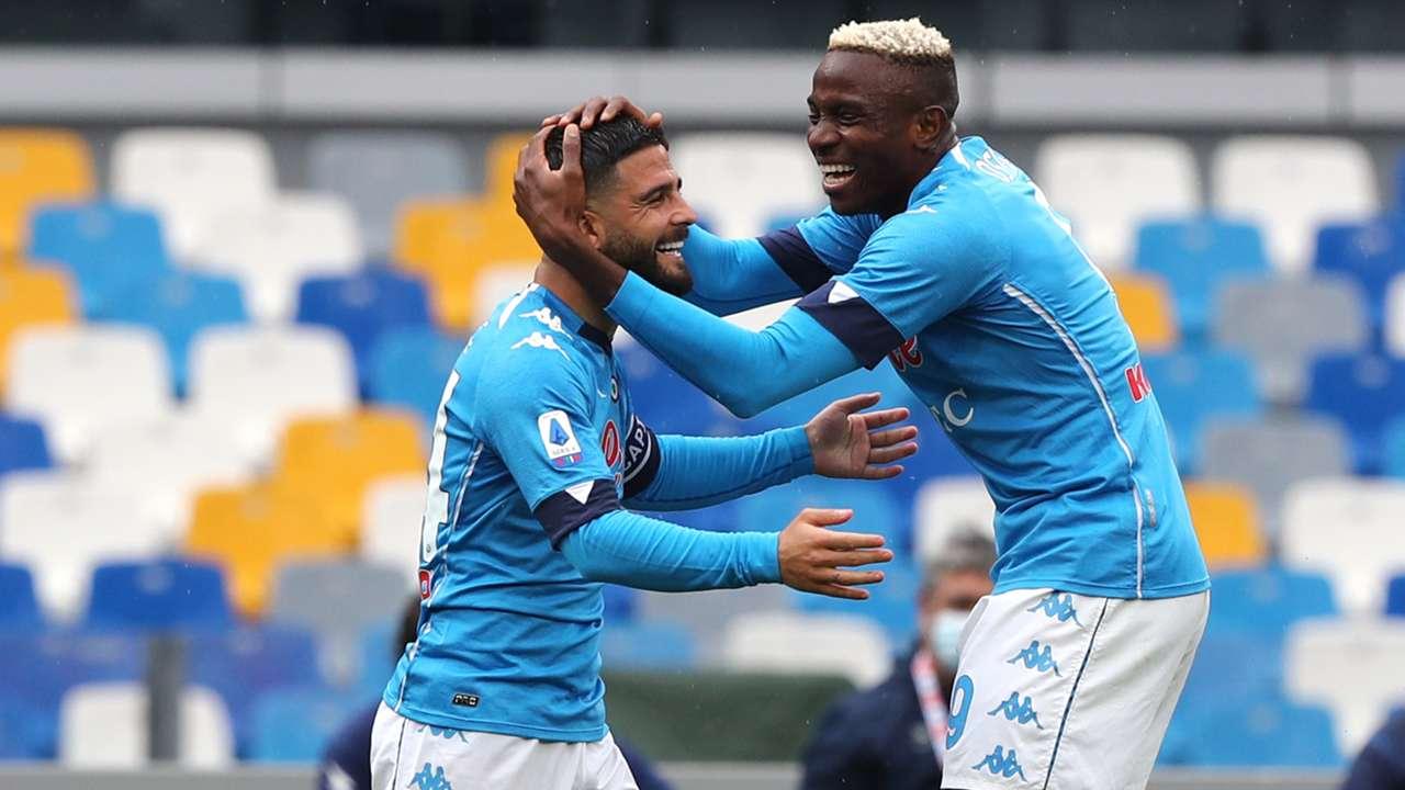 Osimhen Insigne Napoli Crotone Serie A