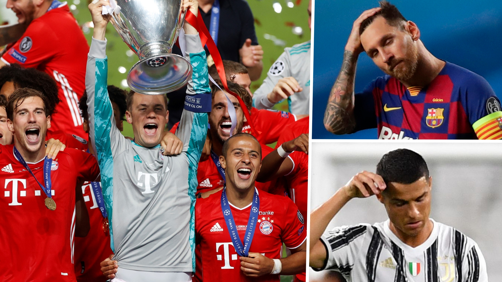 Champions League Team of the Season: No Messi or Ronaldo in Bayern-dominated XI