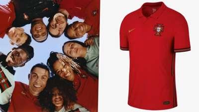Portugal Euro 2020 home kit