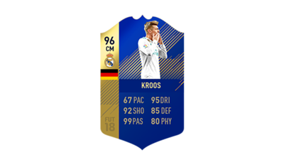 FIFA 18 Ultimate Team of the Season Kroos