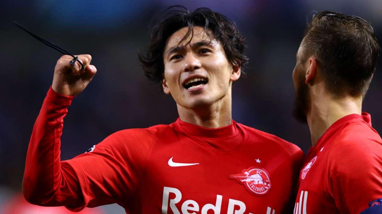 Takumi Minamino Salzburg 2019-20