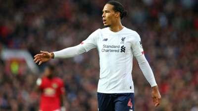 Virgil van Dijk Liverpool 10202019